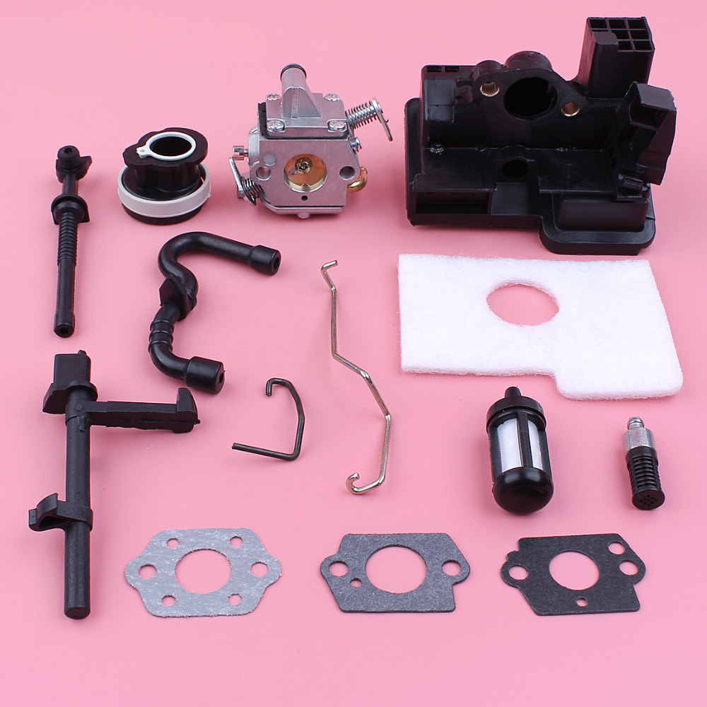Carburetor Air Filter Housing Intake Manifold Kit For Stihl MS180 MS170 018 017 MS 180 170 Zama Carb Chainsaw Spare Part