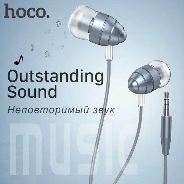 Aliexpress.com : Buy HOCO Universal Metal Headset Wired Earphones ...