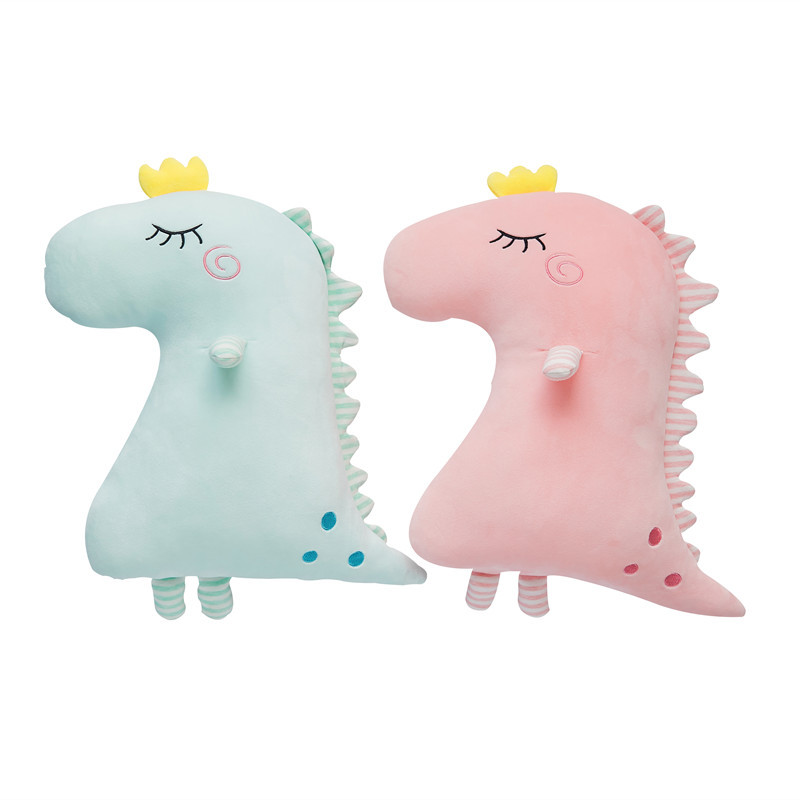 50cm Cute dinosaur stuffed animals soft stuffed animals dolls children sleep pillow girls birthday creative Christmas gifts