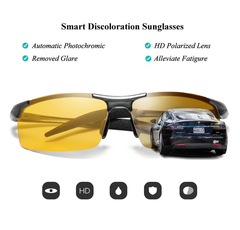 HTB1ObeobynrK1RjSsziq6xptpXas - Aluminum Magnesium Photochromic Sunglasses Polarized Night Vision Glasses Men Oculos Driver Yellow Driving Glasses gafas de sol