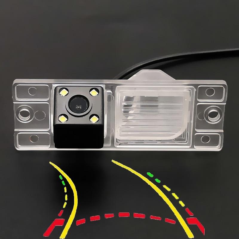 Intelligent Dynamic Trajectory Tracks Car Rear Camera For Mitsubishi Pajero 2006 2007 2008 2009 2010 2011 2012 2013 2014 2015-17