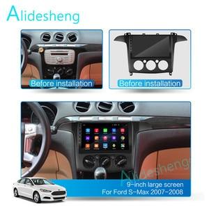 Image 2 - دليل/السيارات ل S MAX S ماكس 2007 2008 2GRAM + 32GROM 2.5D 2Din أندرويد 8.1 الذهاب سيارة مشغل وسائط متعددة لتحديد المواقع واي فاي BT