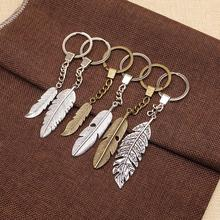 WYSIWYG Feather Double Sided Mix Key Chain For Diy Handmade Gifts