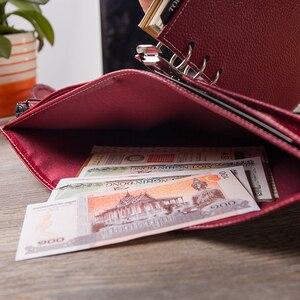Image 5 - Yiwi A6/Persoonlijke A7 Vintage Lederen Travelers Notebook Dagboek Journal Handgemaakte Koeienhuid gift reizen notebook Accessoires