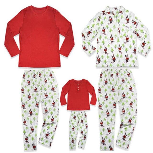 Christmas Kids Adults Home Sleepwear Xmas Family Matching Pajamas Set Mom  Dad Kids Unisex Pyjamas Costume Family Look Nightwear 06b479191