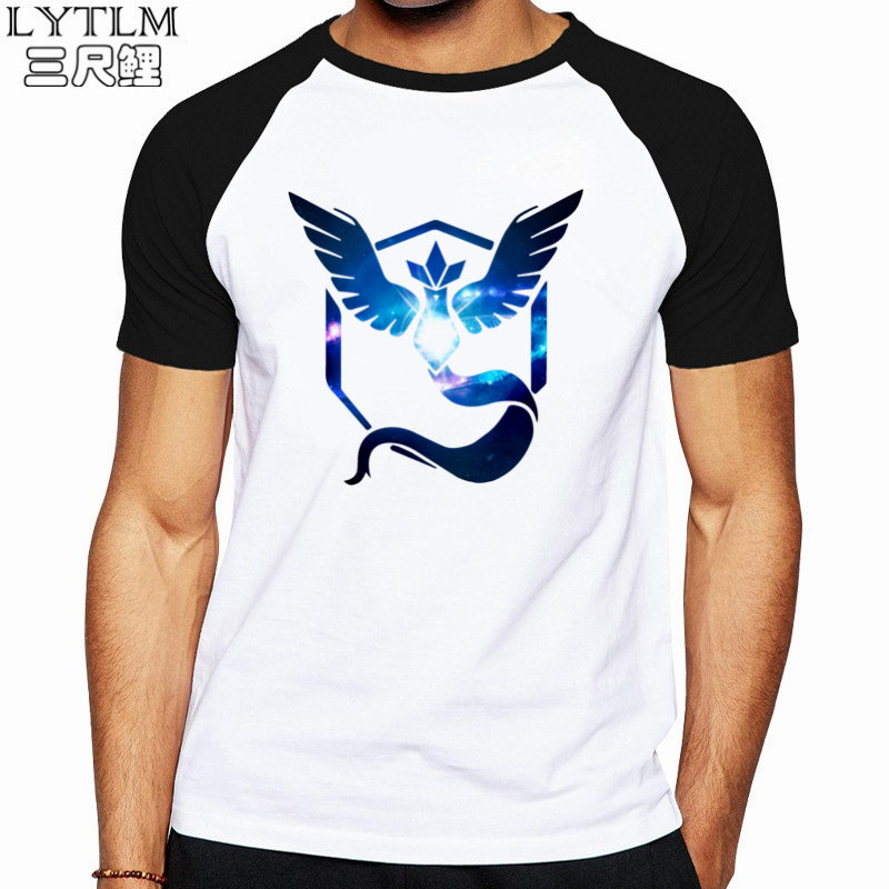 995b19a5 LYTLM Japanese Streetwear Pokemon Shirt Men Geek Anime Shirt Men Pokemon  MYSTIC Team Mens T Shirts