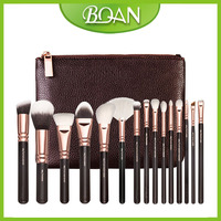 Professional Makeup Brush Set 15Pcs Synthetic Hair Powder Foundation Eyeshadow Concealer Eyeliner Lip Make Up Brush