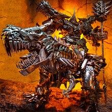 BMB LS05 LS 05 Grimlock סגסוגת מתכת סרט סרט Oversize מוגדל דינוזאור מנהיג עתיקות פעולה איור רובוטים צעצועים מעוות