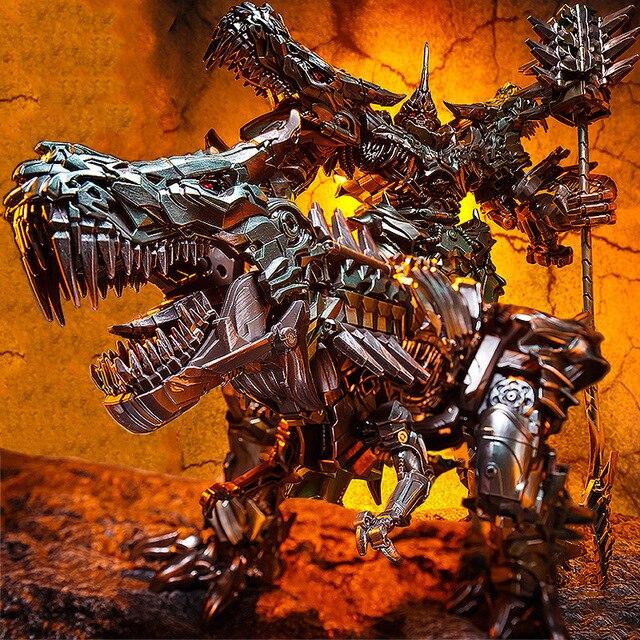BMB LS05 LS 05 Grimlock del metallo Della Lega Movie Film Oversize allargata Leader antico Action Figure Robot dinosauro Deformato Giocattoli