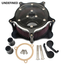 Motorcycle Air Cleaner Intake Filter System kit Venturi for Harley Sportster XL883 XL1200 48 72 1991-2019 2014 Filtre a air moto цена 2017