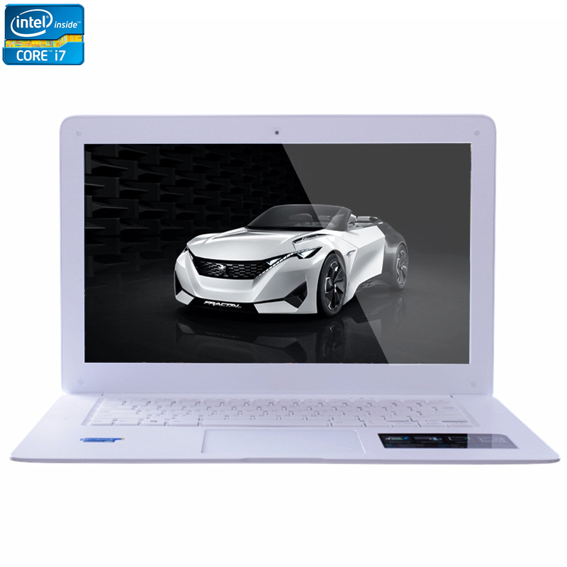 ZEUSLAP Intel Core i7 CPU 14inch 4GB RAM+64GB SSD Windows 7/10 System Wifi Bluetooth 4.0 Ultrathin Laptop Notebook Computer