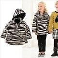 Espesar marca bebé abrigos para el otoño e invierno de manga larga chaqueta niñas y abrigos para 6M-2Y envío gratis