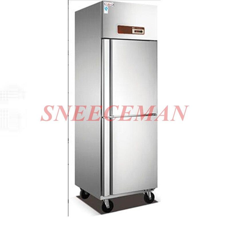 Küche Kühlanlagen Gefrierschrank VertrauenswüRdig Sechs-tür Edelstahl Küche Gefrierschrank Konsole