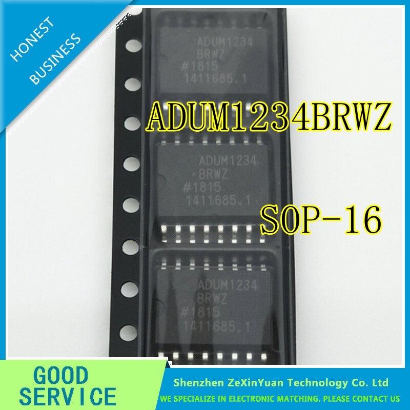 5PCS/LOT ADUM1234BRWZ ADUM1234BRW ADUM1234 SOP16 NEW