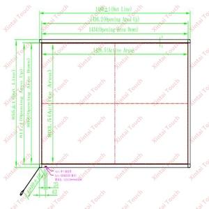 Image 2 - Сенсорная панель Xintai, сенсорный экран 65 дюймов, 10 точек касания, ИК, комплект сенсорных экранов (16:9), без стекла, Plug & Play