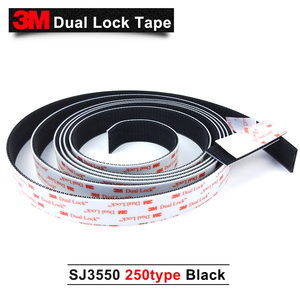 Image 3 - Starke Stiky Transparent Pilz Kopf Band 3 M Wasserdicht Haken Und Schleife Band SJ3550, können indoor und outdoor