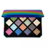 14 Color Fenty Beauty By Rihanna Galaxy Glitter Eyeshadow Palette Make Up Cosmetic Eye Shadow Limited