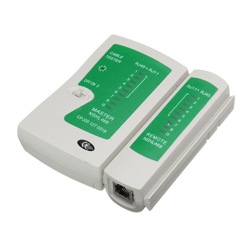 11 stks/set RJ45 RJ11 RJ12 CAT5e Cat6 Draagbare LAN Netwerk Reparatie Tool Kit Utp Kabel Tester EN Tang Crimp Crimper plug Klem PC 5
