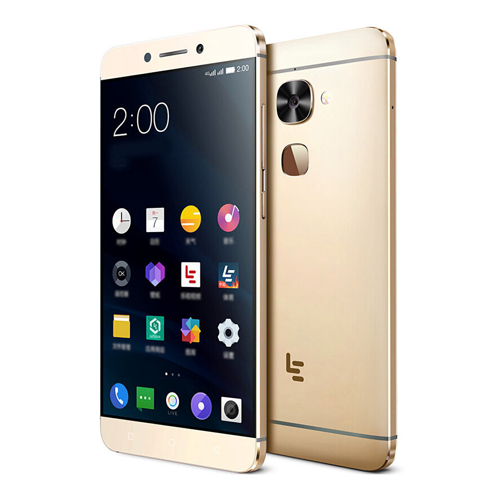 Original Letv LeEco Le S3 Mobile Phone MTK Helio X20 Deca Core 3GB RAM 32GB  ROM Android 6 0 5 5inch FHD 16 0MP Fingerprint 4G LTE Cell Phone