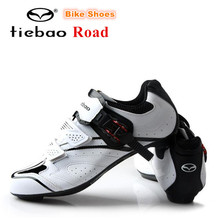 TIEBAO Road Cycling Shoes 2018 Auto-lock Bicycle Sport Shoes zapatillas deportivas hombre Men Mesh Breathable sneakers women