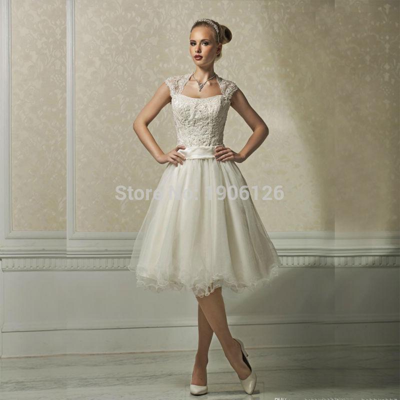 Popular Short Corset Wedding Dresses-Buy Cheap Short Corset ...