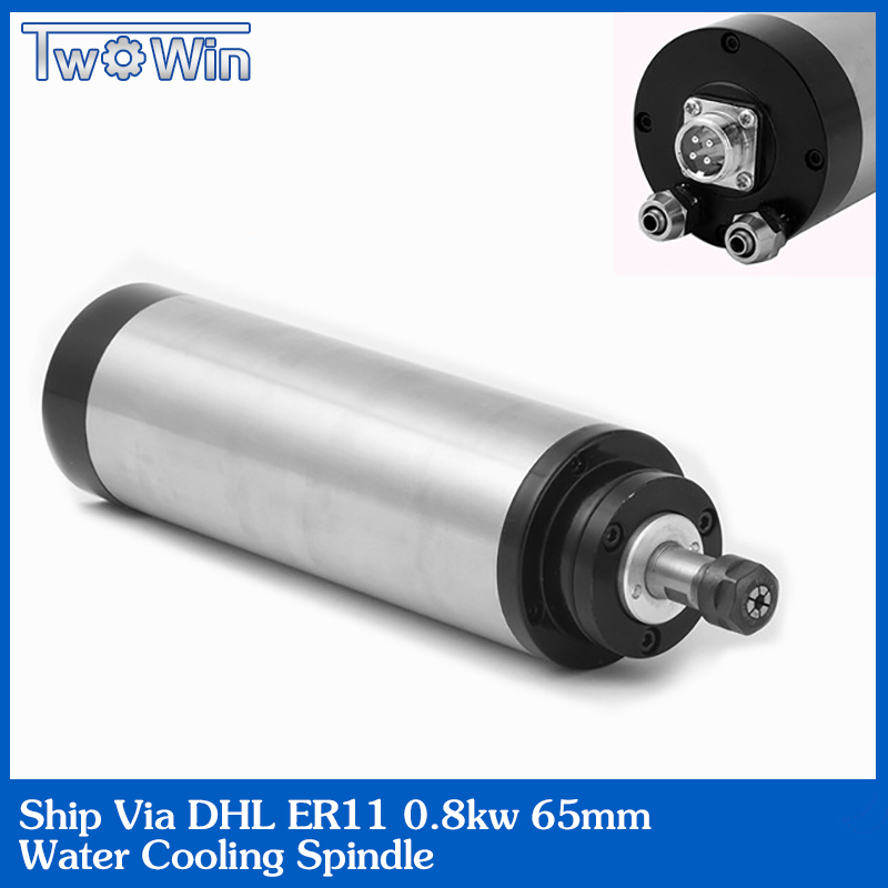 1 5KW water cooled spindle ER16 CNC spindle motor high speed router motor pcs bearing 24000RPM