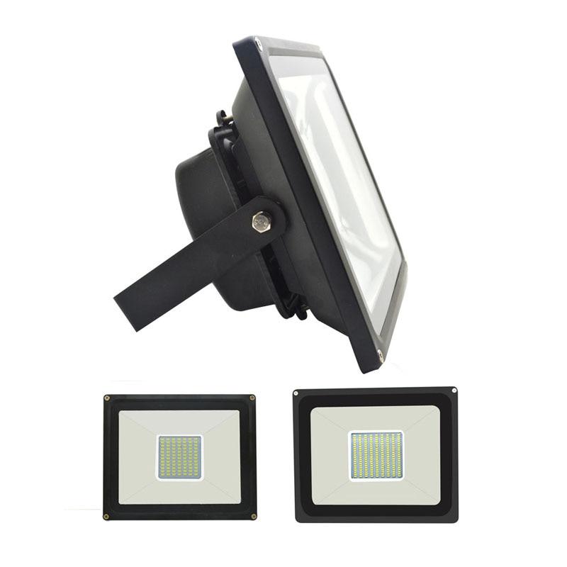 LED Flood Light 30W 50W Floodlight IP65 Waterproof 220V LED Spotlight Refletor LED Outdoor Lighting Gargen Lamp newest