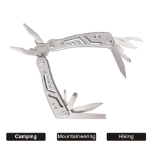 Multitools Outdoor  Portable Folding camping Pocket multitool pliers knife mini tool plier set Screwdriver Hiking Tools Clamp mini folding pliers pocket edc camping tool with screwdriver kit camping climbing hiking plier cutting tool hand tools
