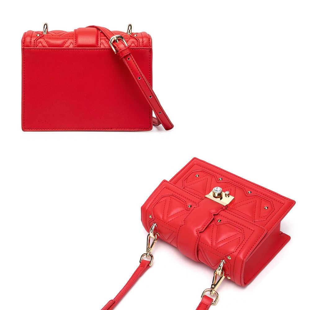 BISON DENIM NOVAS Mulheres Saco crossbody saco das senhoras de Couro de Vaca moda marca de qualidade saco do mensageiro satchel bolsa de ombro N1610