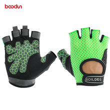 BOODUN Men Women Gym Gloves Crossfit Fitness Gloves Bodybuilding Workout Dumbbell Training Sports Fitness Weight Lifting Gloves цена
