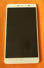 Usato Originale Display LCD + Digitizer Touch Screen In Vetro + Telaio per DOOGEE Y6 Max 6.5 pollici MTK6750 Octa Core trasporto Libero
