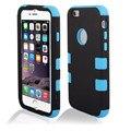 Woweinew alta qualidade triplo armadura manga shell telefone caso capa para o iphone 6 4,7 polegadas sobre as vendas