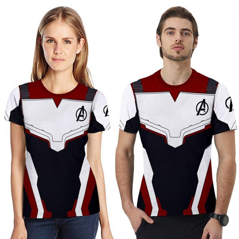 Combinando Roupas T-shirt de Verão da família Mãe Pai Crianças Avengers Endgame Camisetas Roupas Família Pai Mãe Filho Filha Tees