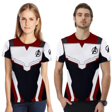 купить Family Matching Outfits T-shirt Summer Father Mother Kids Avengers Endgame T-shirts Family Outfits Dad Mom Daughter Son Tees в интернет-магазине