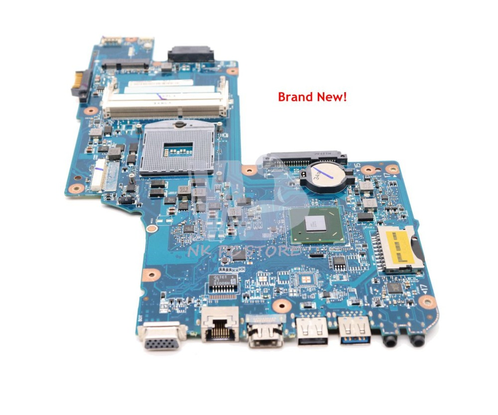 NOKOTION NEW H000052590 For Toshiba Satellite C850 L850 Laptop Motherboard 15.6'' HM77 HD4000 DDR3 Support i3 i5 i7 image