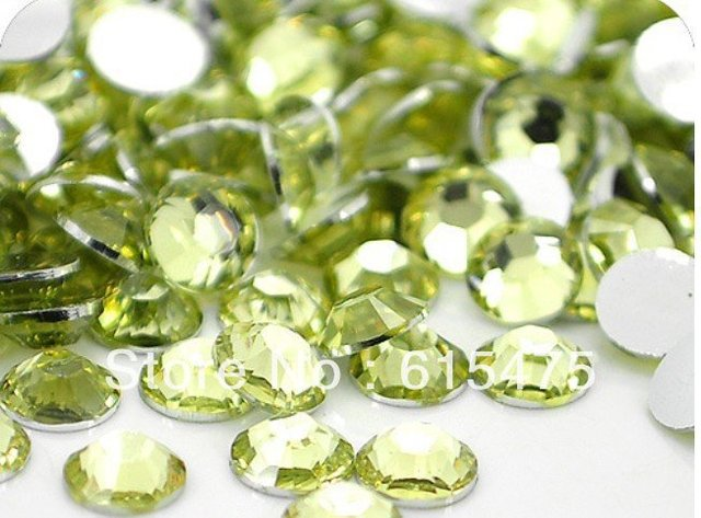 2mm Jonquil Color SS6 crystal Resin rhinestones flatback,Free Shipping 100,000pcs/bag