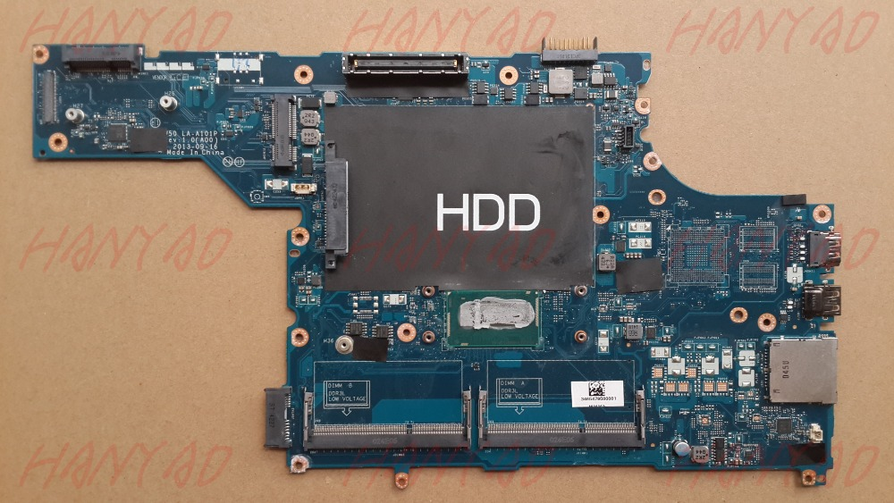 CN-031HKY 031HKY 31HKY For DELL E5540 Laptop Motherboard LA-A101P With i5 CPU 100% Good Qulity