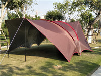 2018 Ultralarge UV 8 10 12 Person Family Base Fishing Travel Sun Shelter Beach Awning Outdoor Pergola Relief Camping Tent