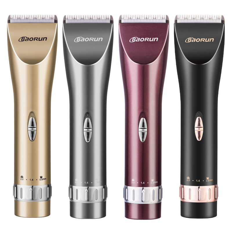 ФОТО 110-240V Professional Hair Trimmer adult infant Electric Clippers Hair Cut Machine  lithium battery charging fader