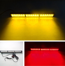 18W 12V 18 LED High Power Explosive Flash Lights/Lightbar Strobe Beacon/Warning Light/Emergency Lightbar Light/Long Bumper Lamps