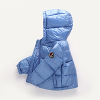 2018 New winter children's down jacket thickened hat children's clothing down jacket,boys and girls down jacket