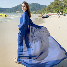 190*140 Natural Women Silk Scarf Solid Long Bikini Beach Cover up Shawls and Wraps Satin Sunsreen Pareo hijab