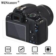 Камера ЖК-дисплей Экран Protector оптический закаленное Стекло защитный кожух Водонепроницаемый для Canon DSLR 5DIV 5diii 1300D 80D 700D 200D 77D