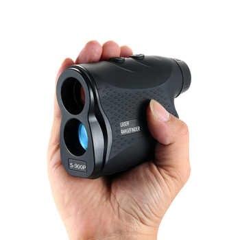 600/900M Laser Rangefinder Golf Hunting Measure Telescope Digital Monocular Laser Distance Meter Speed Tester Laser Range Finder