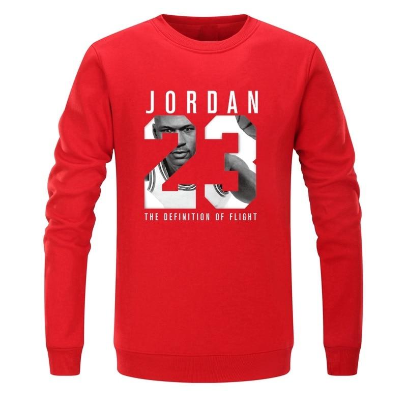 2018 Brand JORDAN 23 Men Sportswear Fashion brand Print Mens sweatshirts Pullover Hip Hop Mens tracksuit Sweatshirts fleece
