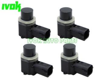 Set (4) PDC Parking Distance Control Aid Sensors For Ford Expedition Edge Fusion Lincoln MKZ AA53-15C868-AAW AA5315C868AAW