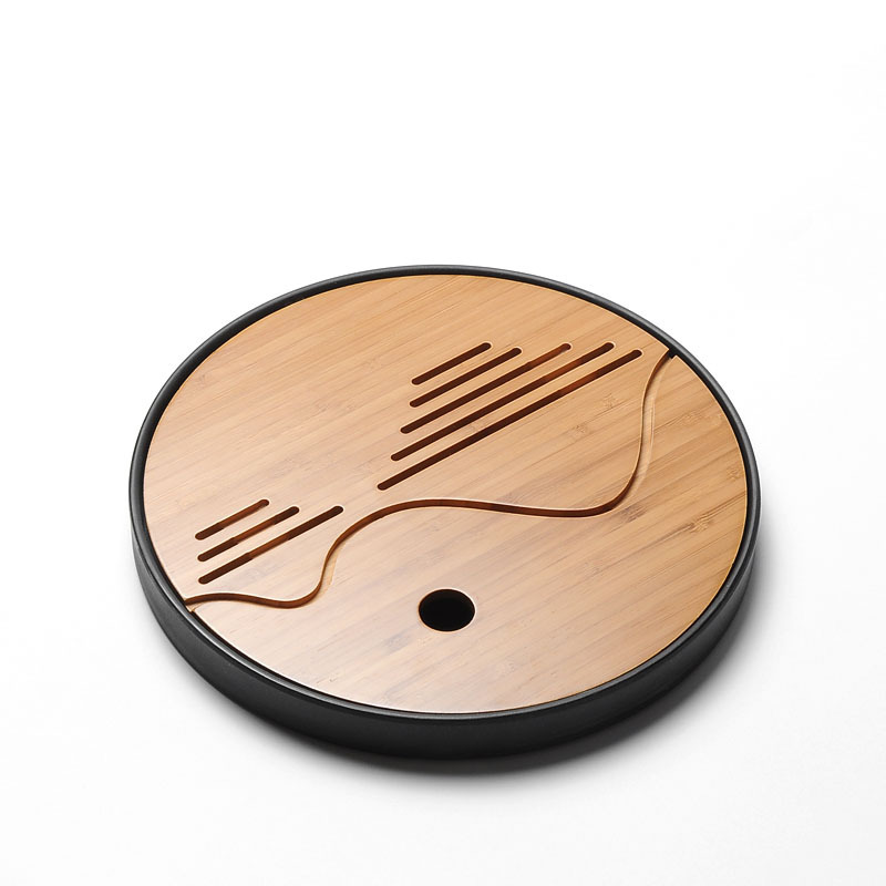 Round & Square Simple Gong Fu Tea Tray 1