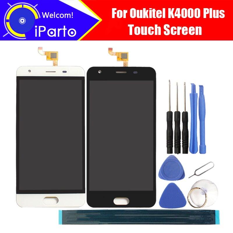 5.0 ''Oukitel K4000 Plus Ecran lcd + Écran Tactile Digitizer 100% Original LCD Écran Assemblée Panneau de Verre Pour K4000 Plus