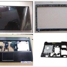 Чехол для lenovo IdeaPad G580 G585 ЖК-дисплей верхняя задняя панель/Передняя панель/Упор для рук верхний/нижний чехол для ноутбука AM0N2000100 AP0N2000100