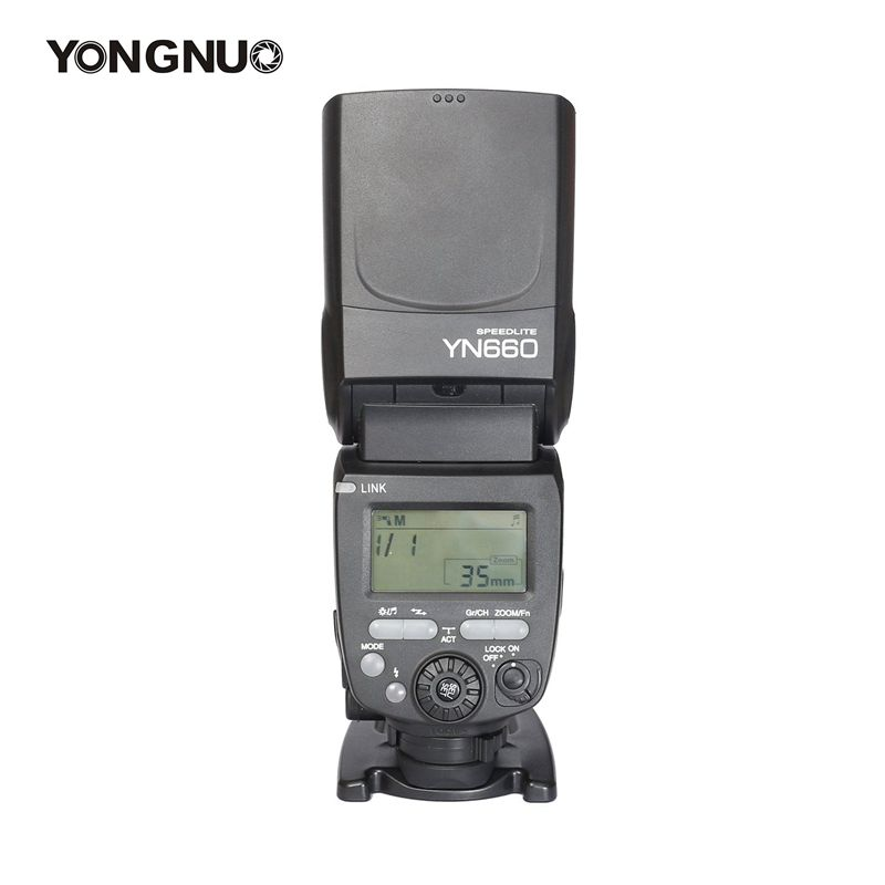 Yongnuo YN660 Wireless GN66 2.4G Flash Speedlite  Pentax Cameras Supports Wireless Master Control for Nikon Canon yongnuo yn e3 rt yongnuo speedlite wireless transmitter e3rt for canon cameras as st e3 rt